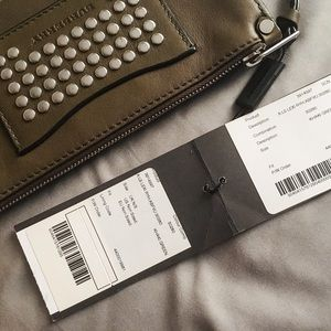 Burberry Bags - Burberry Studded leather wallet